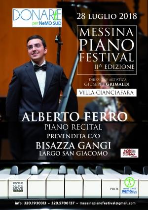 Secondo appuntamento con DONARtE per NeMO SUD a Villa Cianciafara la serata conclusiva di Messina Piano Festival.