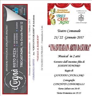 Al Teatro di Trecastagni  sabato 21e domenica 22 con la regia di Giovanni Cavallaro