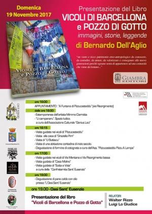 Barcellona Pozzo di Gotto: suggestiva presentazione del libro sui vicoli cittadini nel quartiere Pizzo Castello