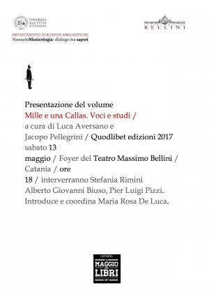 """""""Mille e una Callas. Voci e studi"""":  aspetti inediti  - Un nuovo libro curato da Luca Aversano e Jacopo Pellegrini"""