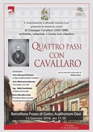 Barcellona Pozzo di Gotto: la Genius Loci ricorda la figura dell'architetto Giuseppe Cavallaro