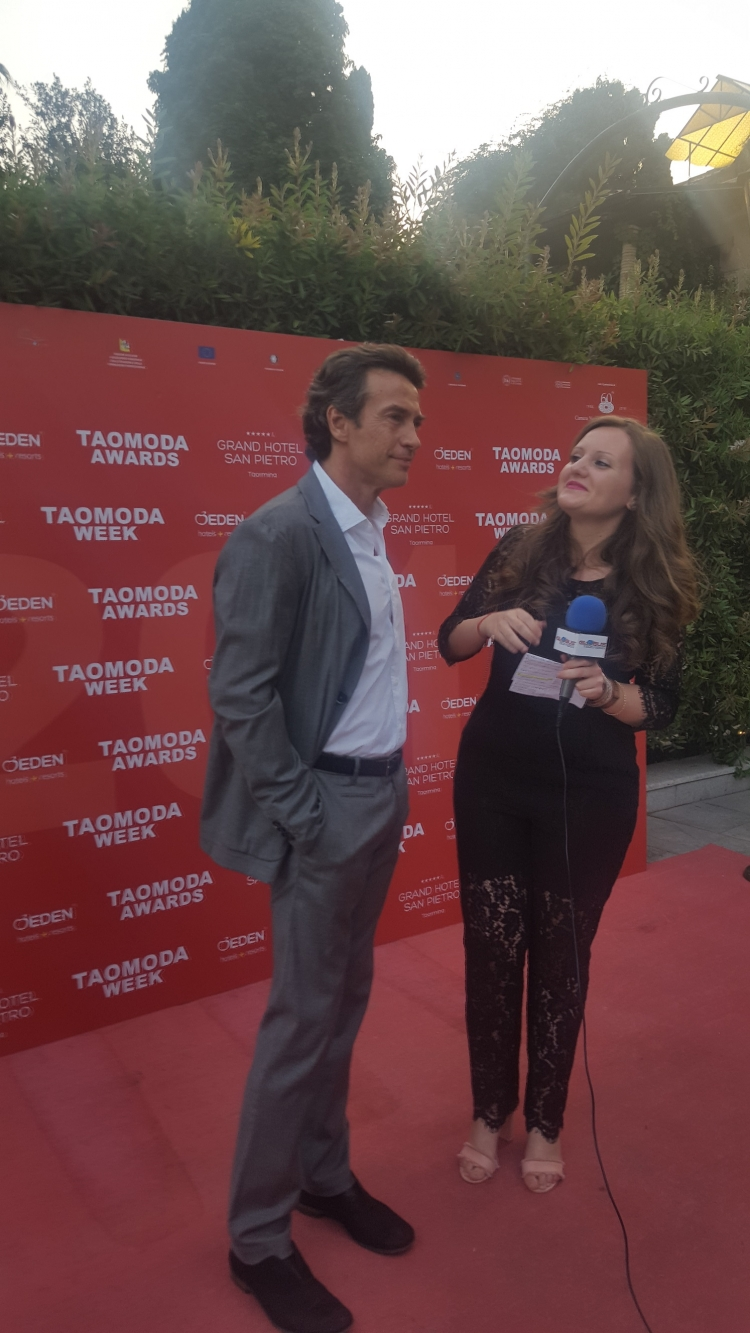 L'alta moda a Taormina trionfa. Con Agata Patrizia Saccone top manager.Taomoda serata conclusiva