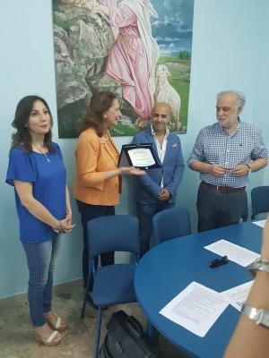 Messina - 23 giugno 2018 - proclamati i vincitori del Premio  Medico di Carità 2018 presso il Centro Medico Buon Pastore.