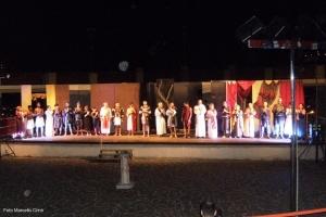Barcellona Pozzo di Gotto: all'Arena Michele Stilo il dramma sulla vita di san Sebastiano