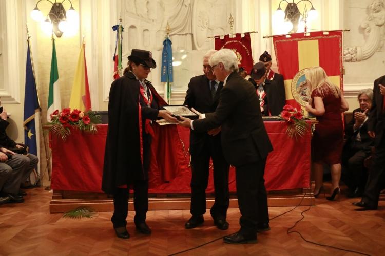 Premio Orione 2017 conferito al prof. Giacomo Maisano