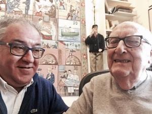 """Andrea Camilleri e Giuseppe Dipasquale, ritorno in Sicilia col debutto de """"Il Casellante"""""""