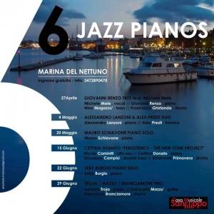 Programma jazz al Marina di Nettuno Con Gianni Renzo dal 27 aprile