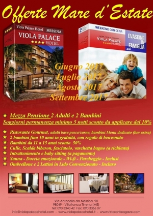 Villafranca Tirrena (Me) - Viola Palace Hotel - Offerte mare d'Estate