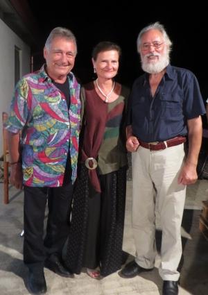 SERATA STRAORDIARIA A SORPRESA CON PETER CIANI - il cantautore italo australiano ad una cena tra artisti -