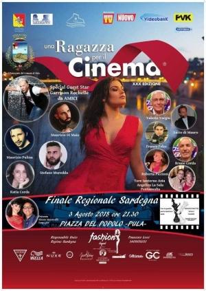 FINALE REGIONALE SARDEGNA   Una ragazza per il Cinema 2018 XXX EDIZIONE