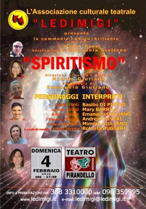 """Domenica 4 febbraio - Una commedia comico/brillante presentata dall'Associazione culturale, teatrale """"LEDIMIGI"""""""