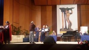 Il Poeta Messinese Pier Paolo La Spina, Vice Presidente dell' ASAS , vince il terzo Premio per la Sezione B del XXXII concorso di Poesia Colapesce.