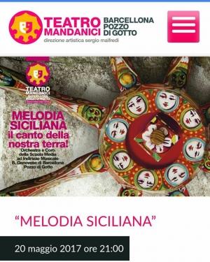 """Barcellona Pozzo di Gotto: """"Il canto della nostra terra"""" della scuola """"Bastiano Genovese"""" chiude la stagione del Teatro Mandanici"""