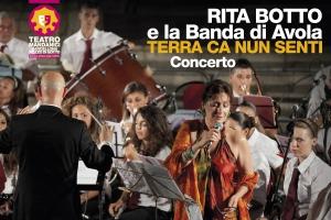 Rita Botto e la Banda di Avola il 4 marzo al Teatro Mandanici di Barcellona