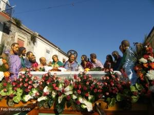 Barcellona Pozzo di Gotto: sul Longano l'incontro delle due processioni del Venerdì Santo