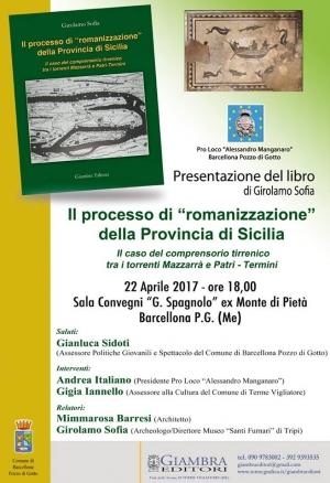 """Presentazione a Barcellona del libro di Girolamo Sofia sulla """"romanizzazione"""" della Sicilia"""
