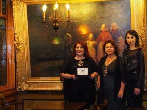 Premiazione di Enza Mignacca in Olanda