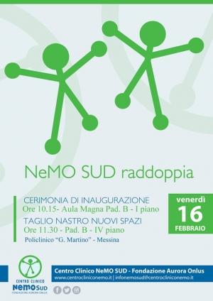 NeMO SUD RADDOPPIA: il 16 febbraio inaugurazione dei nuovi spazi.