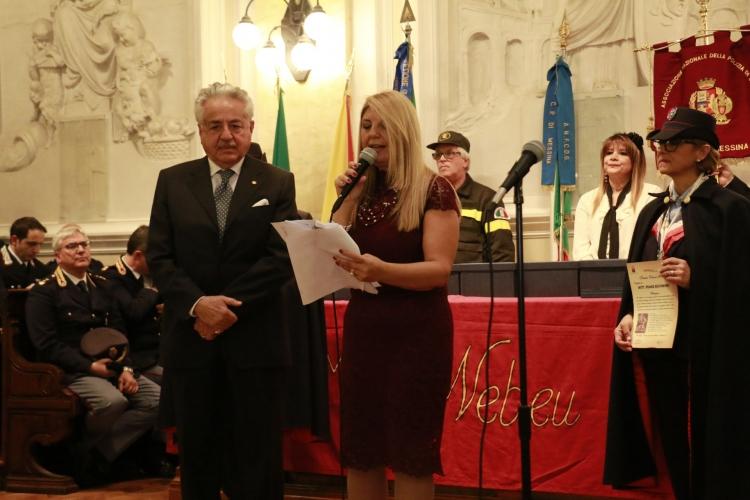 Premio Orione 2017 conferito al dott. Franz Riccobono