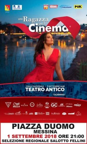 Una ragazza per il cinema a Messina