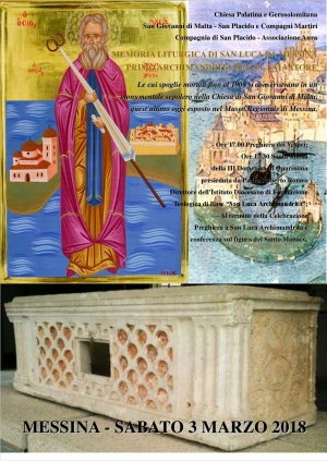 Associazione Aura - Compagnia di San Placido Chiesa Palatina e Gerosolimitana di San Giovanni di Malta