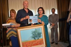 2° premio, per la sezione Pittura ad ARTEINCENTRO 2016