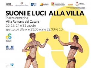 Fondazione Taormina Arte Sicilia a Piazza Armerina 24 agosto Suoni e Luci
