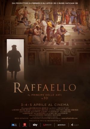Raffaello Sanzio al Cinema in 3D  il 3  4  5 aprile nelle sale cinematografiche d'Italia