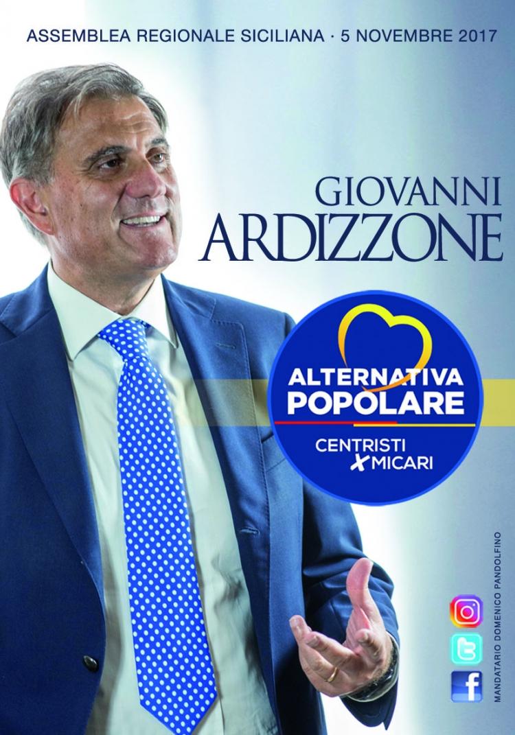 Giovanni Ardizzone  - Presidente dell'Assemblea Regionale Siciliana