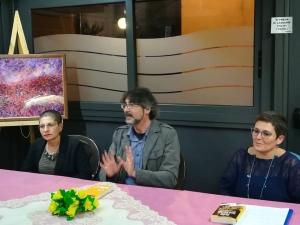 """Venerdì 13 ottobre ha avuto luogo nella saletta del Lion Bar di Piazza San Teodoro, il secondo appuntamento della rassegna """"Ottobre si veste di Giallo"""", organizzata dalla Pro Loco di Sinagra."""