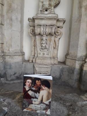 Il libro di Franco Leone  su Caravaggio al Monte di Pietà