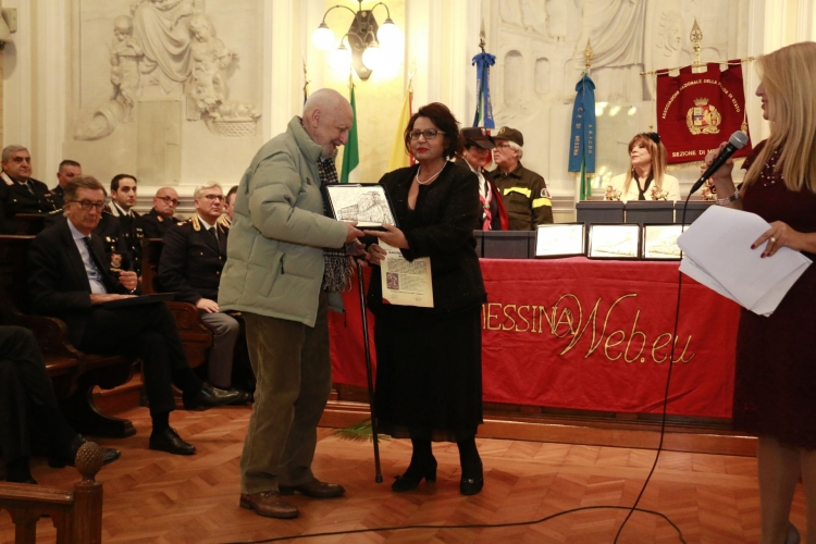 Premio Orione 2017 conferito al Maestro Luigi  Ghersi