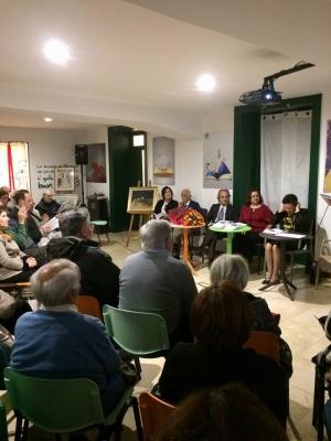 Sabato  11 novembre  è stata presentata a Messina presso La casa di giulia, librinfesta la terza silloge poetica della poliedrica artista, nonché  presidente dell' Asas ,Flavia Vizzari.