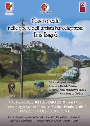 Mostra della opere di Iris Isgrò dedicate a Castroreale