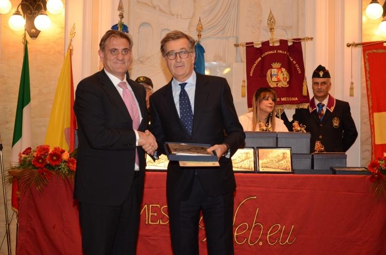 Premio Orione 2017 conferito al dott. Carmelo Gugliotta.