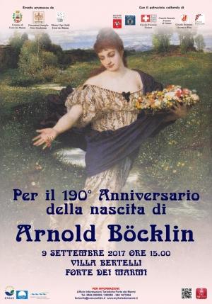 Arnold BÖCKLIN 2017  (Basilea 16 Ottobre 1827 – Fiesole 1901)   Convegno a Forte dei marmi