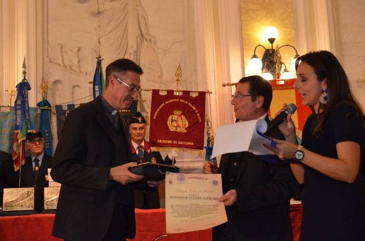 Premio Orione 2016 - MONSIGNOR CESARE DI PIETRO