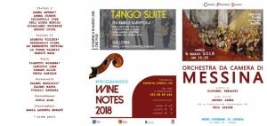 DOMENICA 4 MARZO ore 19 - Museo Diocesano - P.zza Duomo  - Catania - Anteprima WINE NOTES.