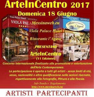 Arteincentro 2017 - Artisti Partecipanti ad OGGI
