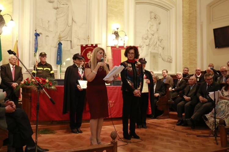 Premio Orione 2017 conferito alla prof.ssa  Maria Caltabiano