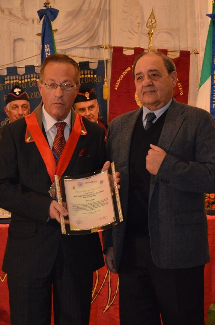 Premio Speciale Orione 2016 - Associazione Nazionale del Fante – Sezione di Messina