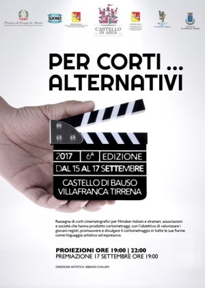 Villafranca Tirrena: dal 15 settembre la sesta edizione dei cortometraggi alternativi nel castello di Bauso