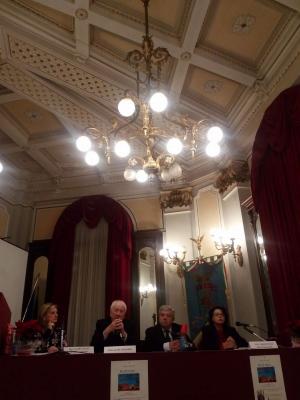 Presentata la raccolta poetica di Giovanni Malambri'. Al Salone degli Specchi dell'ex Provincia Regionale di Messina. Una mission per la charity