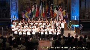 Barcellona Pozzo di Gotto: il trionfo dei Piccoli Cantori ad Arezzo, la soddisfazione di Salvina Miano