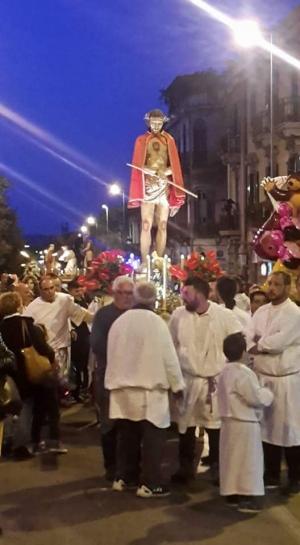 Venerdì Santo a Messina ed a  Francavilla di Sicilia