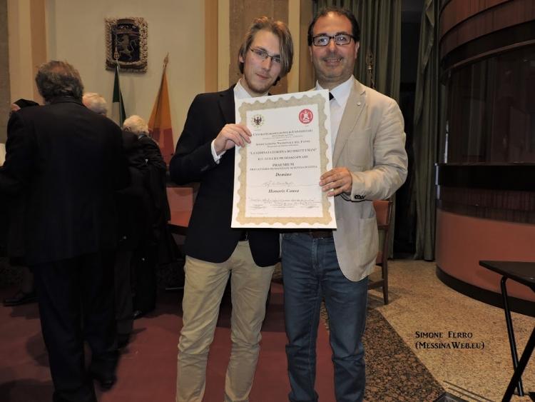 """"""" IL 5 MAGGIO A MESSINA """"CITTA' D'EUROPA """" I CO.B-GE E L'A.N.F.   HANNO RICORDATO L'OPERATO DEL CONSIGLIO D'EUROPA E CELEBRATA """"LA GIORNATA EUROPEA DEI DIRITTI UMANI"""" - E WILLIAM SHAKESPEARE"""