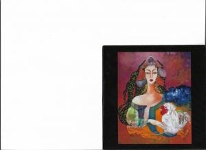 Intervista alla valente pittrice  Gavri La pittrice romena conquista il pubblico di Taormina