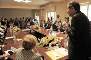 REGIONE: MUSUMECI INCONTRA SINDACI DEL COMPRENSORIO DI MILAZZO
