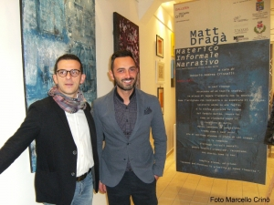 La mostra di Matt Dragà alla Galleria Progetto Città di Barcellona Pozzo di Gotto.
