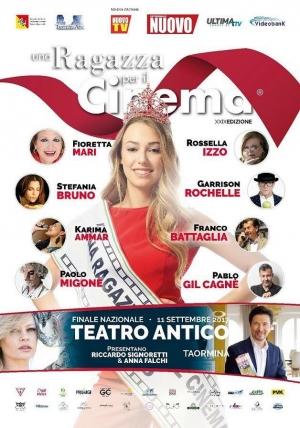 """""""UNA RAGAZZA PERIL CINEMA"""" -XXIX  Edizione – Finale Nazionale -   Taormina, Teatro Antico 11 settembre"""